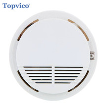 Topvico 433 mhz Smoke Sensor Detector Alarm Wireless Fire Alarm House Safety Smart Home Security GSM Alarm Systems