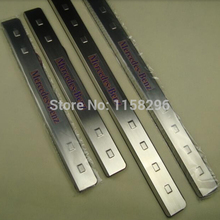 stainless steel  LED scuff plates door sill covers for Mercedes W168 W169 entry guards car styling auto accessories