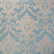 Classic Damask Plain dye Light Blue Chenille Sofa Headboard Bag Garment Curtain Home Textile Fabrics Width 280 cm Sell by meters