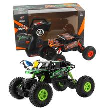 WLtoys 18428-B 1:18 Radio Remote Control Scale 2.4G 4WD RC Off-road Car Crawler Electric-drive off-roader RC Dirt bike toys(China)