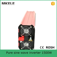 MKP1500-122R high quality pure sine wave form dc ac power inverter dc 12v ac 220v 1500w inverter 12v 220v with low price