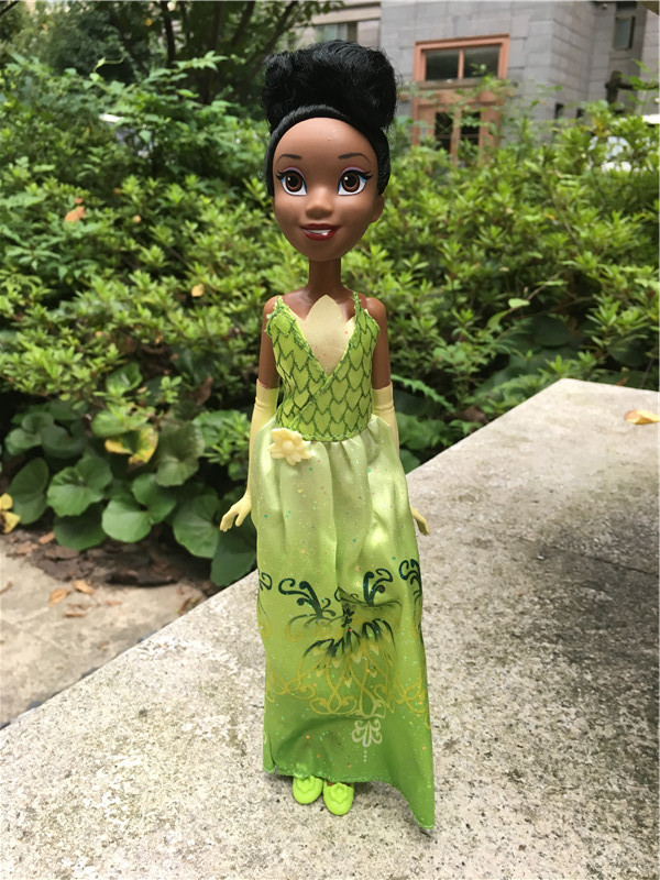 Original Princess Royal Shimmer DP 10 Tiana Girl Doll Action Figure Toy Gift New Loose<br><br>Aliexpress