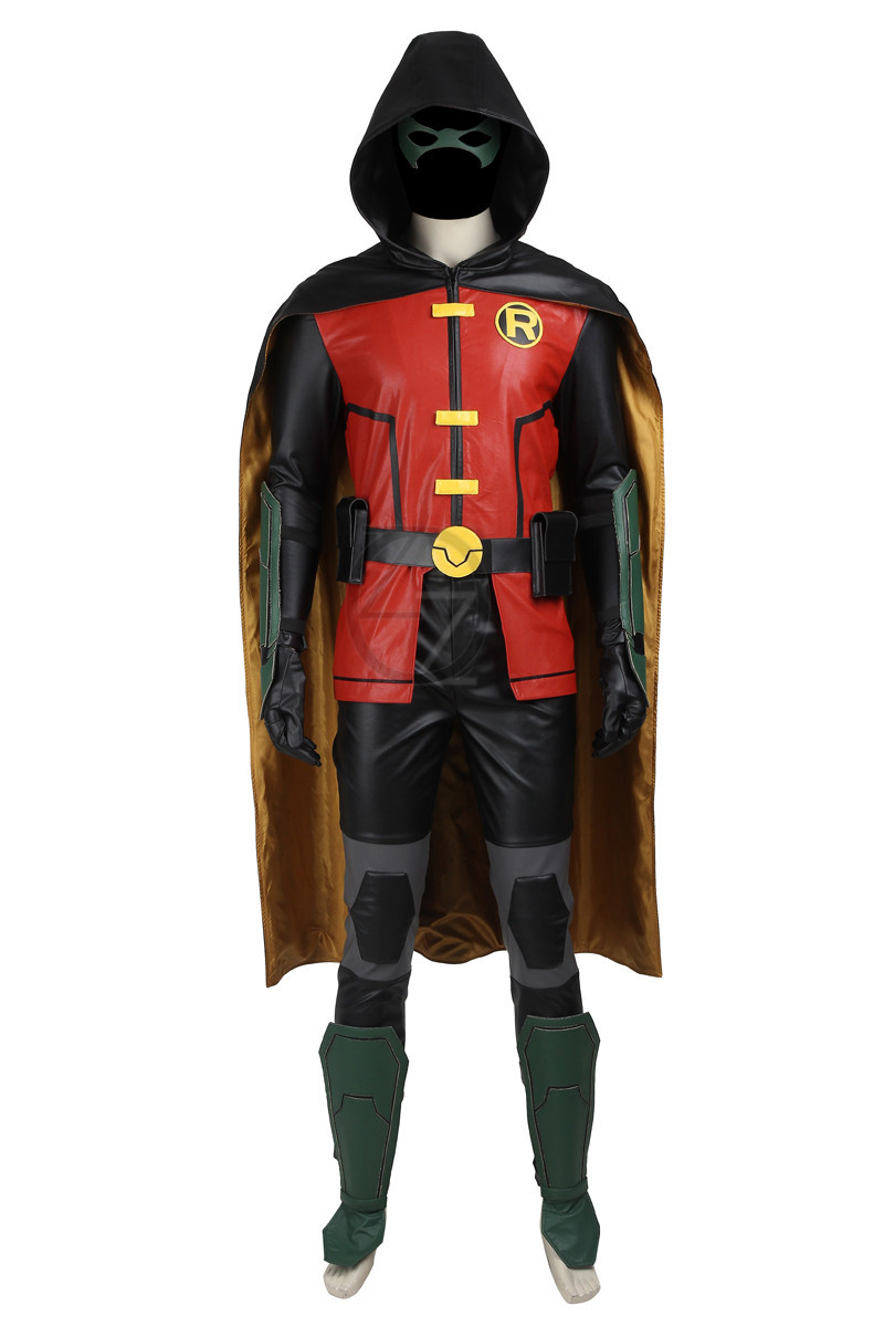 New-Titans-Justice-League-vs-Teen-Titans-Robin-COSPLAY-Costume-Any-Size-Custom-Made-High-Quality (1)