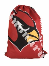Arizona Cardinals Drawstring Bags Men Backpack Digital Printing Pouch Customize Bags 35*45cm Sports Fan Products(China)