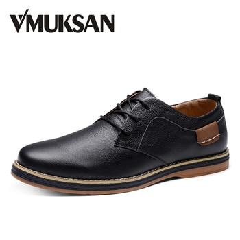 VMUKSAN Planos de Los Hombres Negro de Cuero de Imitación Formal de Zapatos Para Hombre Zapatos de Vestir de Punta Redonda de La Vendimia Italiana Para Hombre Oxfords