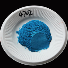 Type 4702 Blue Pigment Pearl powder dye ceramic powder paint coating Automotive Coatings art crafts coloring for leather(China)