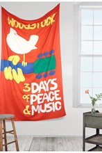 Woodstock 69 Rock Band Banner Hanging Flag Art Poster For Bar Party Music Festival Tattoo Shop Decoration 144*96cm Free Shipping