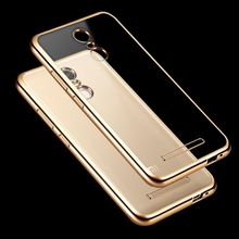 Soft Silicone Plating Clear Case Phone Cover For Xiaomi Redmi 3s 4 Pro 4A 4X Note 2 3 4 4X Pro Prime Note4 Global Version