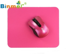 Beautiful Gift New Comfortable Non-slip Super Thin Soft Mouse Pad for PC Notebook Laptop Tablet PC Wholesale price Dec29