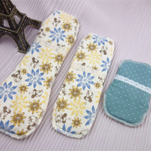 6Pcs Mix 3 size Reusable Washable Sanitary Pads Menstrual Pad Cloth Sanitary Maternity Mama Pads napkin Panty Liners Day / night