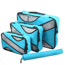 Travel Storage Bag 3pcs/set Luggage Clothes High Capacity Tote Toiletries Laundry Shoe Pouch Portable Waterproof Storage Case