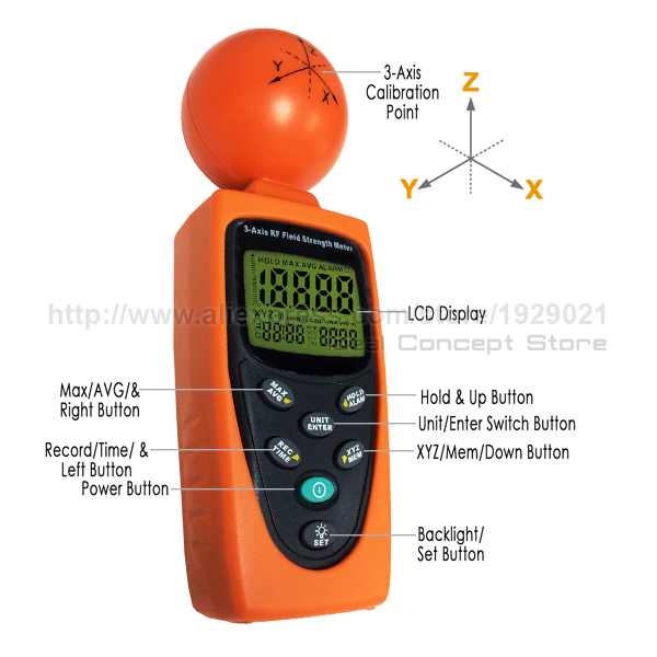 4-Ideal-Concept-EMF-meter-T95-Parts