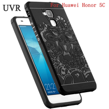 UVR For Huawei Honor 5C Case Fashion Soft Silicone Anti-Knock Protective Cover For Honor 5C GT3 Case 5 C(China)