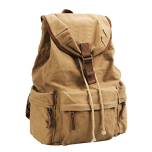Canvas Vintage DSLR SLR Camera Shoulder Case/Backpack With Waterproof Special Position For Notebook Computer(China)