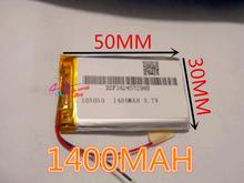 best battery brand 3.7V lithium polymer battery 1400mah battery 103050 Toy Spot A GPS navigation products