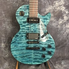 human best selling Lp guitar quilted maple top electric guitar picture real shot free delivery