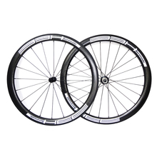 Buy 700c bike wheels Width 25mm black road bike wheels china Carbon Wheelset 45mm Carbon Clincher Wheelset Bicycle rims for $490.00 in AliExpress store