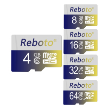 Reboto 2gb 4GB 8GB 16GB Memory retail Micro SD Card Microsd TF card colorful microsd Trans Flash Cards