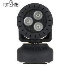 15W Mini Moving Head Led Stage Disco Dj Dmx Spot Lamp RGBW 4 in 1 Beam Strobe Laser Show Party Wash Effect Stage Lamp AUTO Run