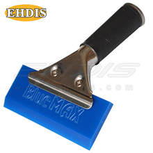 EHDIS Car Snow Cleaner Bluemax Rubber Snow Shovel Windshield Window Squeegee Ice Scraper Water Wiper House Multi Vinyl Cleaner(China)