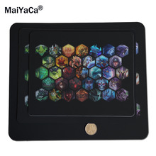 Hot sale Mouse Pad 250*290*2mm DOTA 2 jogos LOL gamer Computer anti-skid table mats ,You can customize the mouse pad(China)