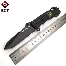 BGT 229 Multi Folding Knife 7cr17 Blade Aluminum Handle Tactcial Hunting Combat Pocket Knives Rescue Outdoor Camping EDC Tools