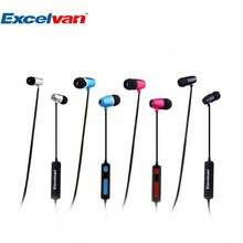 Wireless Bluetooth Earphone HIFI Stereo Music Headset Excelvan O1 in Ear SweatProof Earbuds With Built in Mic For Smartphones PC