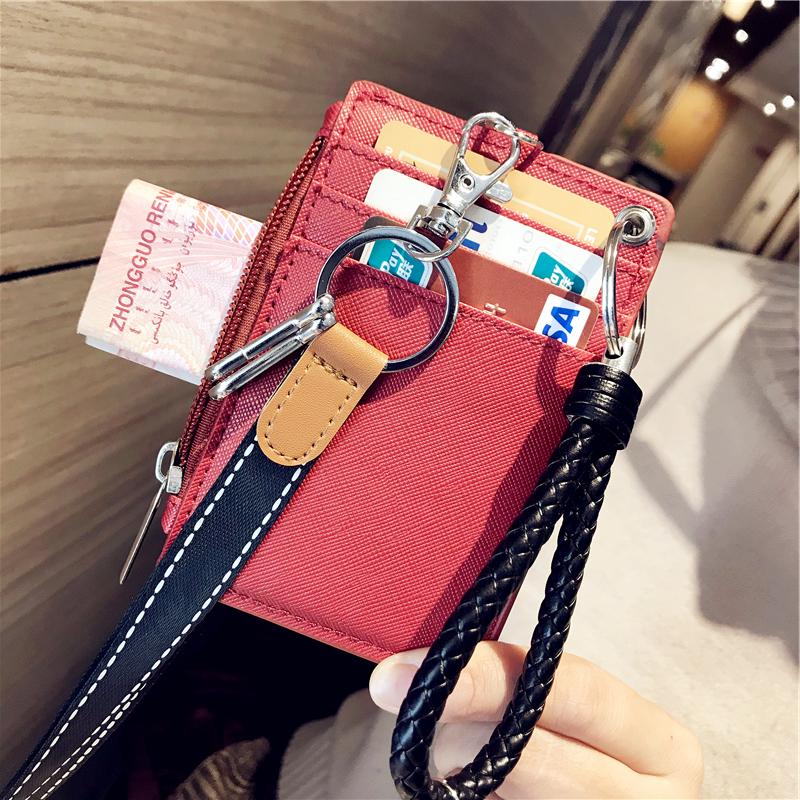 Card & Id Holders Smart Shiny Women Card Holder Wallet Id Holders Female Student Cardholder For Lolita Cute Star Transparent Laser Bank Credit Card Case Low Price Coin Purses & Holders