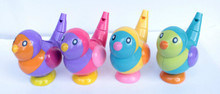1pc water whistles hot selling gift Send At Randomly 2-in-1 whistle Plastic baby bath collection bath toy bird(China)
