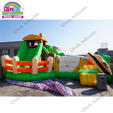 Factory direcet sale commercial air bouncer inflatable trampoline for sale(China)