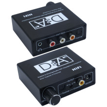 Digital 2-way audio converter coax coaxial to toslink optical audio bi-direction converter with USB DC cable