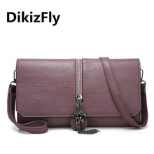 Buy DikizFly Fashion women clutch bag women Luxury leather Day clutch evening bag female Clutches handbag messenger bags Wristlets for $25.45 in AliExpress store