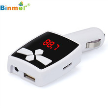 Hot Selling  MP3 Player Wireless FM Transmitter Modulator Car Kit USB SD MMC LCD Remote Gift Jun 13