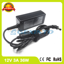 12V 3A 36W laptop charger ac adapter AD820M2 EXA0801XA for Asus Eee PC 1002HAE 701 900 901 GO S101H T91MT 1000HA 1002HE 160G XP