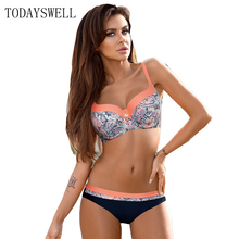 new Bikini Set 2017 Sexy Brazilian Bikini Push Up Swimwear Women Swimsuit Female Bathing Suit plus size Beach swim wear XXL