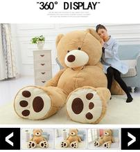 2016 New Arriving Giant Right-angle measurements TEDDY BEAR PLUSH HUGE SOFT TOY Plush Toys Valentine's Day gif(China)