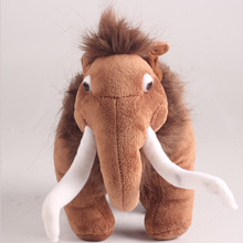 25cm fashionable Action Figures of Ice Age Short-Plush Stuffed Companion Toys Children's Best Gift Manny/Diego/Seed