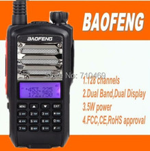DHL freeshipp+10pcs/lot Baofeng handy talkie radio 5W  long distance uhf vhf dual band midland radio 2 way communication boafeng