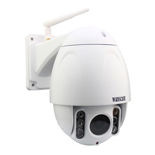 WANSCAM HW0045 Waterproof IP66 Outdoor 2MP HD1080P X5 Optical Zoom Wifi Security IP PTZ Camera IR-Cut Plug Play Recording Webcam(China)