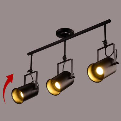 Iron Painted Vintage Spotlights Shop Pendant Lamp Clothing Store Lighting Coffee House/Bookshop/Bar/Hall/Mall Lamp Free Shipping<br>