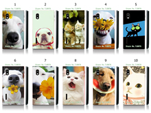 2016 New Arrival Customize Phone Cases Cute Cat And Dog White Hard Cases For LG Optimus L5 E610 E612 E615