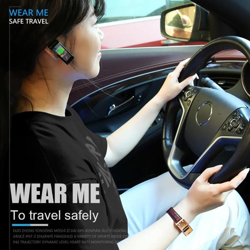 ALLOYSEED Bluetooth Smart Bracelet Watch Handsfree Call Music Player Sport Wristband Headset Fitness Tracker Heart Rate Monitor 4