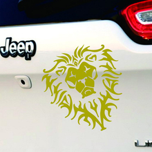 World of Warcraft WOW Alliance Horde Auto Motor Game Wall Sticker Car Stying Decor Mirror Glass Lion Head Waterproof Stickers