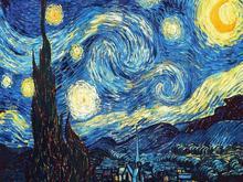 Украшения дома DIY 5d diamond Вышивка Ван Гог Звездная ночь вышивки крестом абстрактная живопись маслом смолы Хобби Craft(China)