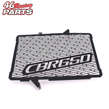 Black Motorcycle Accessories Radiator Guard Protector Grille Grill Cover For Honda CBR650 CBR650F CBR 650/650F 2013 2014 2015