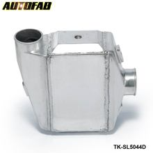 "AUTOFAB-Universal Aluminum Water To Air Turbo Intercooler FMIC 13.3"" x12""X4.5"" Inlet/Outlet: 3"" TK-SL5044D"