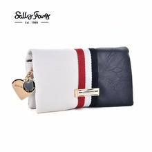 Women PU Leather Purse Colors Pattern Fine quality Wallet