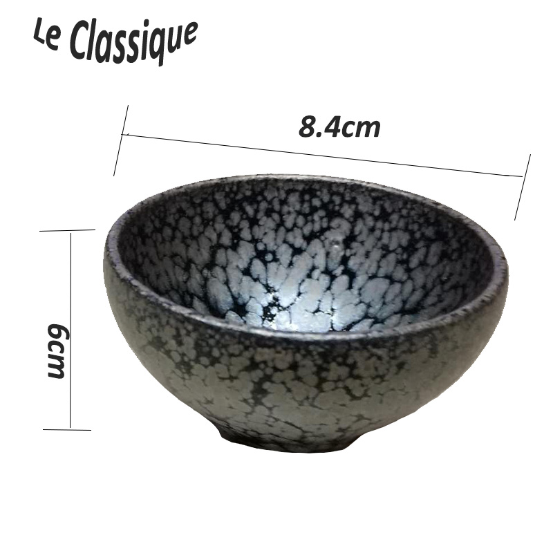 iron glaze tea cup