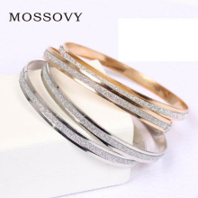 Mossovy 원 둔 폴란드어 Bracelets Charms Rose Gold Silver Women 액세서리 Office Lady Style Bracelet Jewelry 대 한 Women(China)