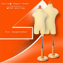 Child mannequin for clothes,dummy mannequin torso,maniqui without cabeza/ Manikin Kid Dress Form Display+Round base,M00043B